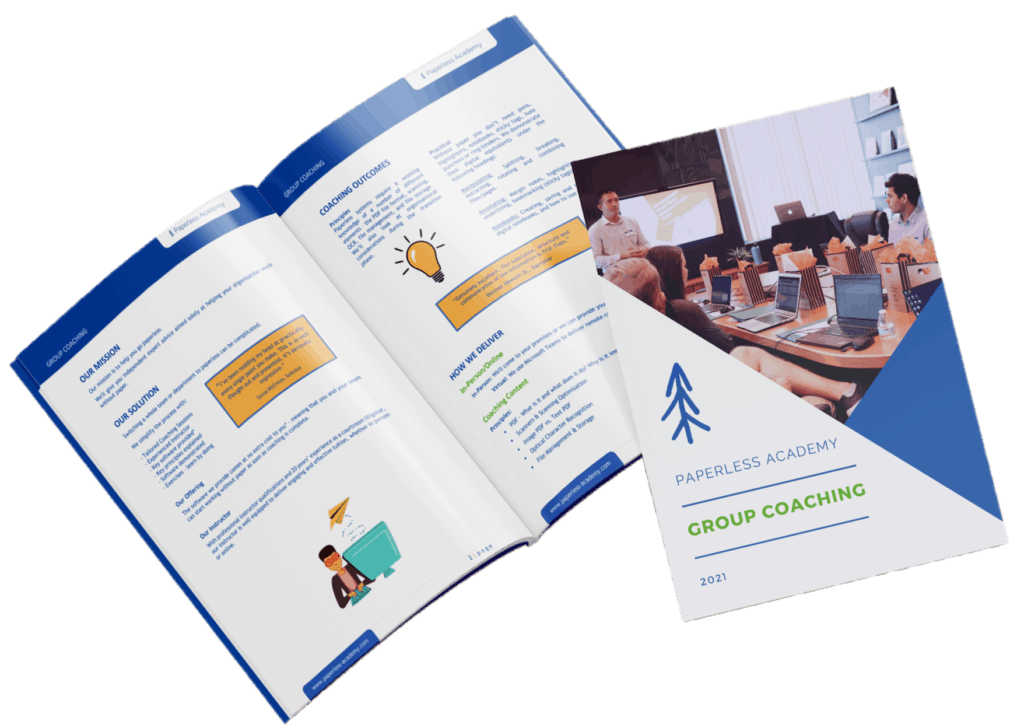 Group Coaching Brochure