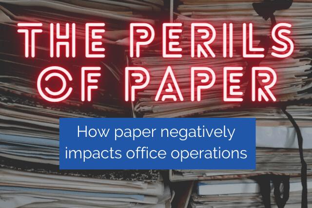 perils of paper